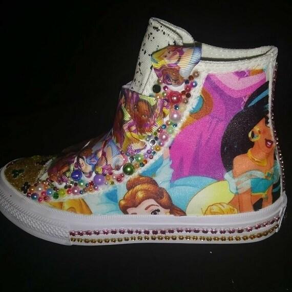 Custom Disney Princess Converse Sparkle