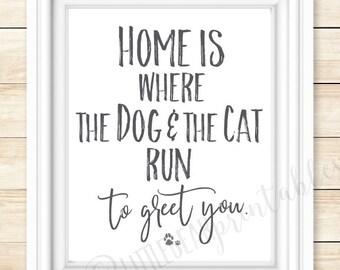 Dog home decor | Etsy