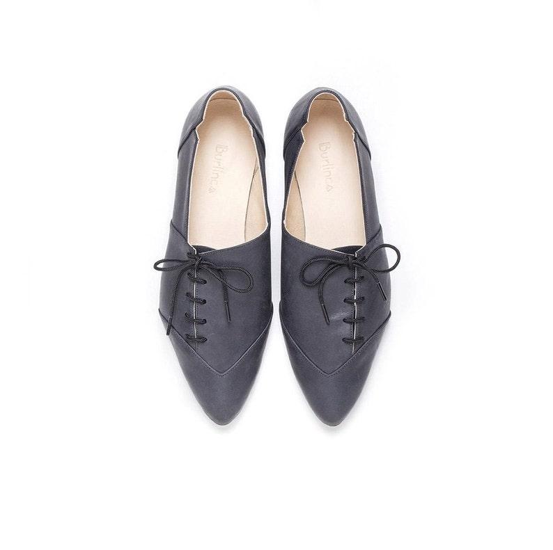 ccbaae0719 Women black oxfords black shoes oxford shoes tie shoes | Etsy