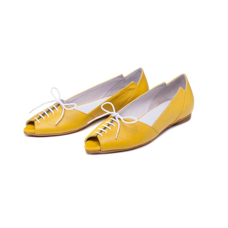La Jaune JaunesChaussures Femmes Par Fait Main Cuir Burlinca ChaussuresSandales Womens À FemmeBallerines SandalesEn 34RLA5j