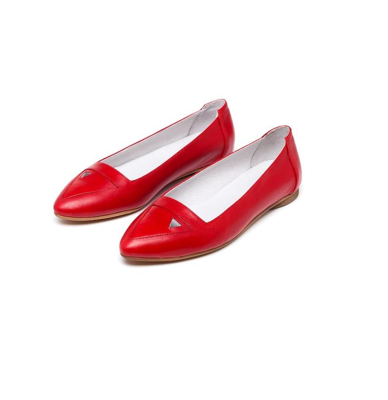 30289974d7e20 Red shoes women red shoes womens flats women shoes women | Etsy