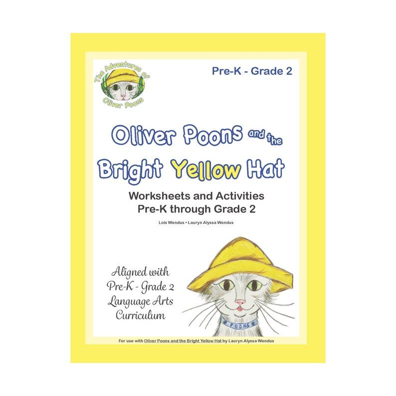 Oliver Poons Educational Workbook by Lois Wendus  Preschool  image 0