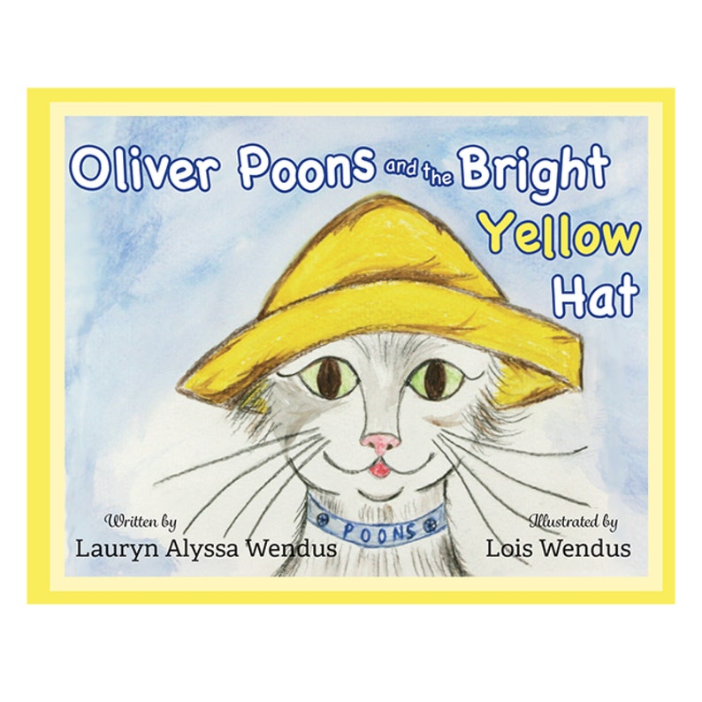 Oliver Poons and the Bright Yellow Hat Children's Book  image 0