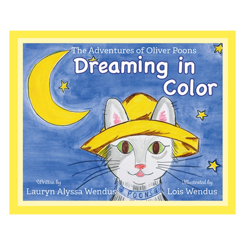 Oliver Poons Dreaming in Color Children's Book  image 0
