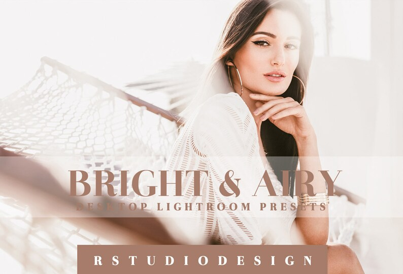 70 Bright & Airy desktop lightroom presets image 0