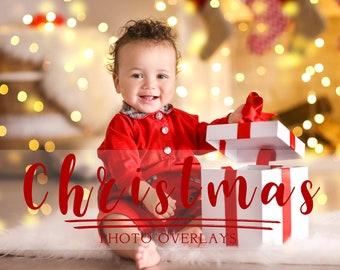 130 Christmas photo overlays Megapack