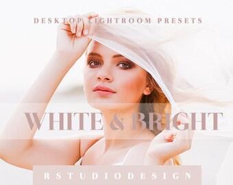 White & Bright desktop lightroom presets