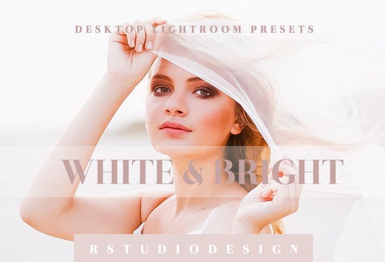White & Bright desktop lightroom presets image 0