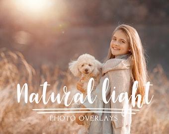 50 Natural Light photo Overlays