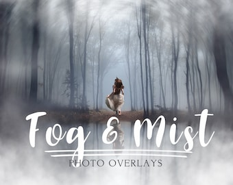 65 Fog and Mist photo overlays