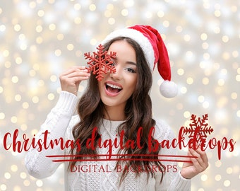Christmas Digital Backdrops