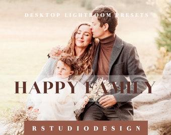 Family desktop lightroom presets