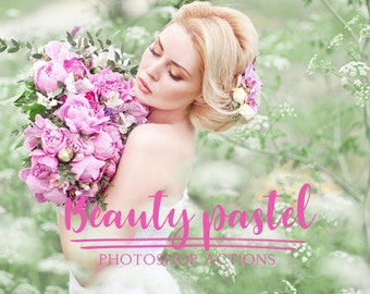 Beauty Pastel photoshop actions