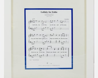 Sweet Memories Lullaby Musical Frame