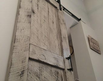 Custom Reclaimed Sliding Barn Door