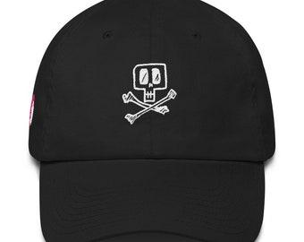 049da4584bd Bright skull cap