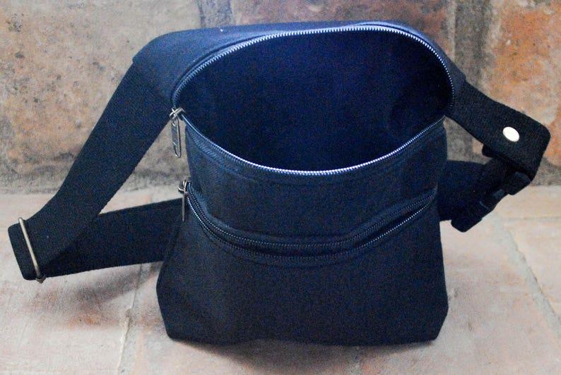 Unisex Basic model Waterproof Casual fabric Fanny pack Vegan