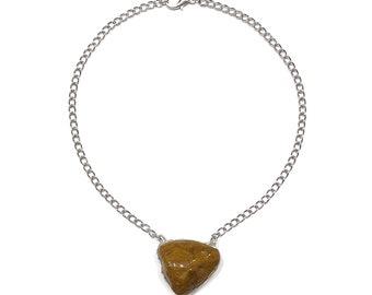 Brown jasper necklace