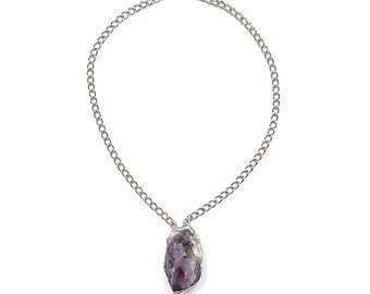 Amethyst enlighten necklace