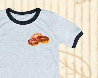 0ab15c93 Doughnut shirt, Donut Kids shirt, Ringer tee, Donut tee, Pocket tee, Donut  party shirt, Kid shirts, Toddler shirt, Kid clothes