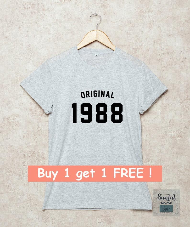31st Birthday Shirt T Shirts Original 1988