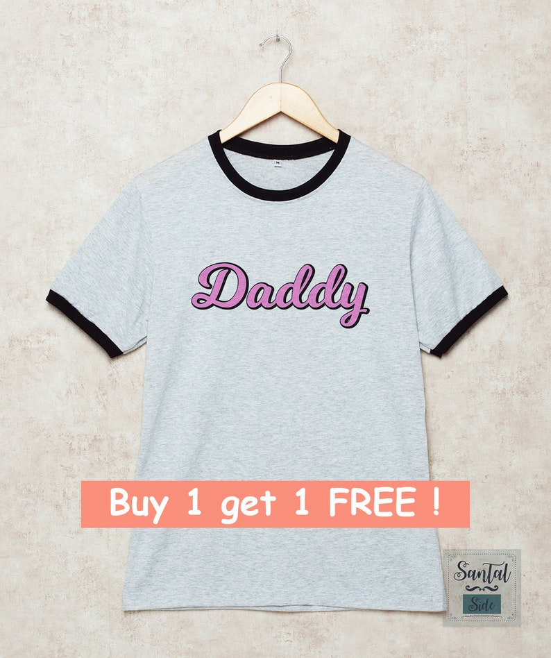 507809703 Daddy Shirt Ringer Tshirt Father's Day T-Shirt Funny Daddy | Etsy