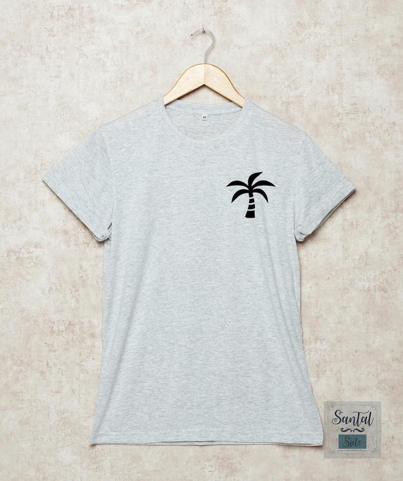 db20fc5c6 Coconut Shirt Beach Shirts Coconut Tree Tshirt Summer T-Shirt   Etsy