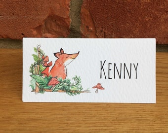Fox Wedding Place Names