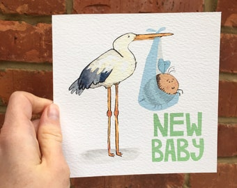 New Baby Arrival Card