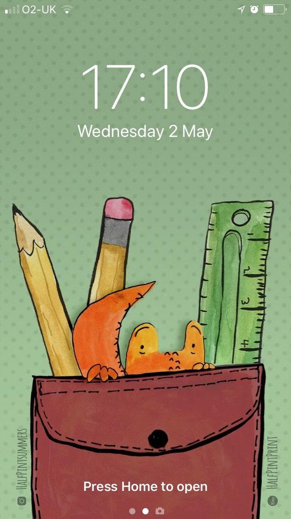 Crocodile Pocket Screensaver Iphone Downloads Iphone 6 Lock Screen Picture Phone Wallpaper Digital Download