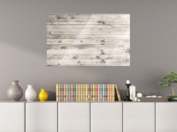 Glazen Wand Woonkamer : Glazen wand board magneetbord voor woonkamer houten planken etsy
