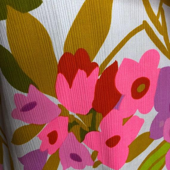Vtg Malia Honolulu Maxi Dress Puffed Sleeves - image 7