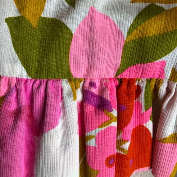 Vtg Malia Honolulu Maxi Dress Puffed Sleeves - image 9