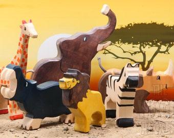 Safari Toys For Boys : Safari baby mobile animals baby crib mobile neutral girl etsy