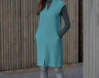 Woolen Dress Motumo 17FW8