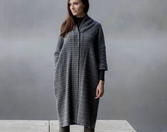 Woolen Dress Motumo 17FW2