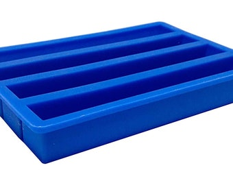 USA SELLER - Single Pen Blank casting mold easy release silicone 4 cavities in mold.