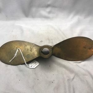 Maritime Display Decor Vintage Industrial Authentic Boat Propeller Set Nautical Distressed