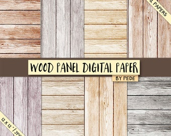 BUY 3 PAY FOR 2, Wood panel digital paper pack, rustic wood, wood background, old wood, rustic wood texture, bright, printable, download