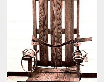 fb25271244a8a8 Custom Replica Arkansas State Execution Device Old Sparky Electric Chair