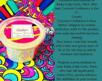 African Gold Coconut Confidence Whipped Shea Butter