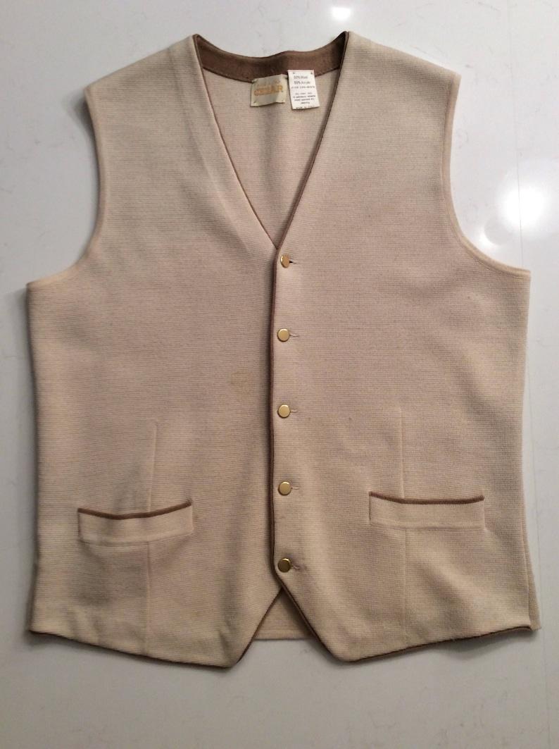 Men/'s Vintage Sweater Vest
