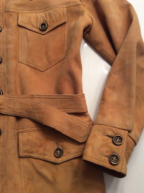 Vintage 1970's Suede Men's vintage jacket!