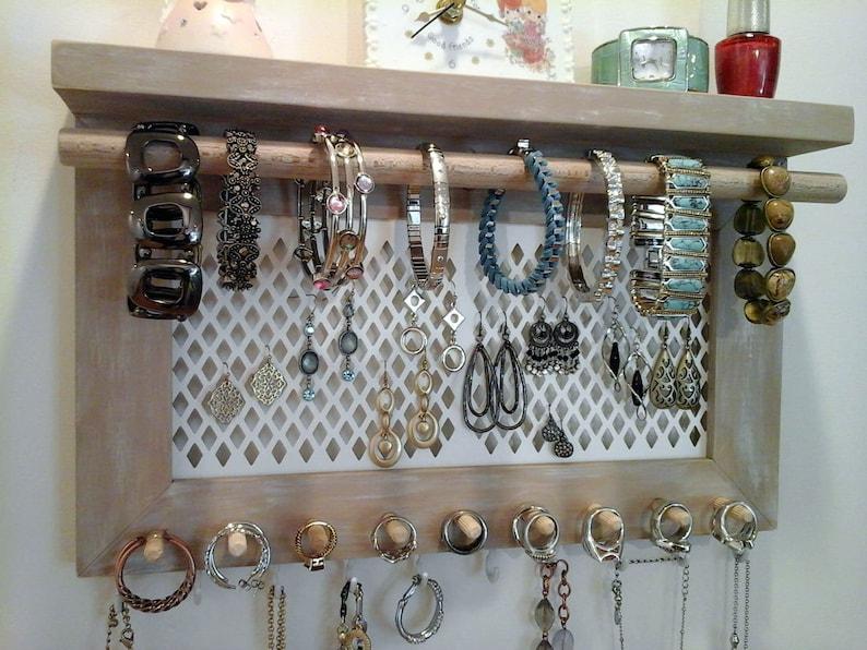 Présentoir à Rouler et Bagues Pochette Chaine Boucles D/'Oreilles Coloris