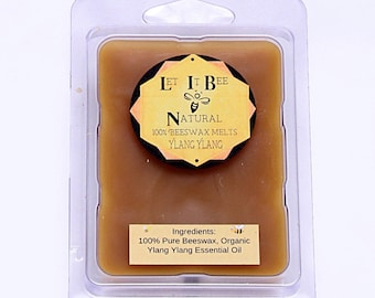 100% Pure Beeswax Melts / FREE SHIPPING