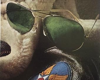 27909893905ed 1981 Bausch   Lomb Ray-Ban Sunglasses Print Ad