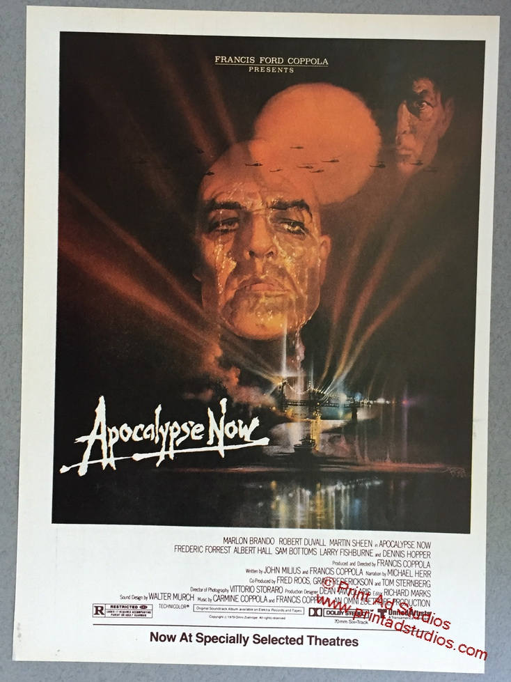 1979 Apocalypse Now Movie Print Ad Francis Ford Etsy