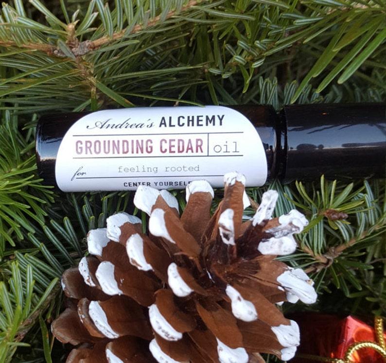Grounding Cedar Oil image 0