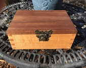 Walnut and Maple Butterfly Box