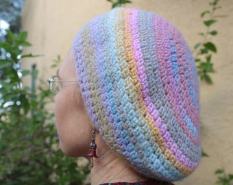 Dreamy Pastel Wool Beret - Warm and Cozy